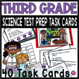 SCIENCE 3RD GRADE TEST PREP WITH CLIP TASK and SCOOT GAME/