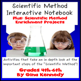 SCIENTIFIC METHOD  Interactive Notebook, Activities, Writi