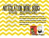 SHR Complex Sounds Mini Books