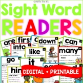 Sight Word Fluency Readers