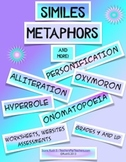 SIMILES, METAPHORS AND MORE ACTIVITIES PACKET