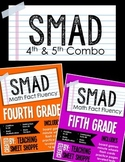 SMAD Math Fact Fluency Program *FOURTH AND FIFTH GRADE*