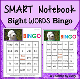 smart notebook-smart board-sight word bingo words 1-96