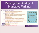 SMARTBOARD Writing Workshop: Raising the Quality of Narrat