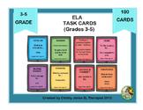 ELA TASK CARDS (Gr. 3 to 5)