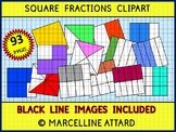 SQUARE FRACTIONS CLIPART - 93 IMAGES!! - OK FOR COMMERCIAL USE