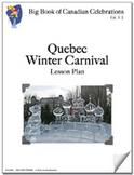Quebec Winter Carnival Lesson Plan  **Sale Price $2.07  -
