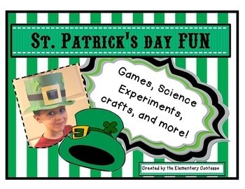 ST. PATRICKS DAY PACKED FULL OF FUN - ACTIVITIES FOR MARCH