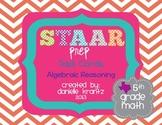 STAAR Prep Task Cards - Algebraic Reasoning - Grade 5