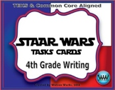 STAAR WARS 4th Grade Writing Task Cards / Review Game