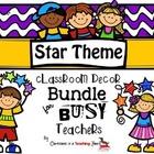 STAR Theme Classroom Decor Bundle