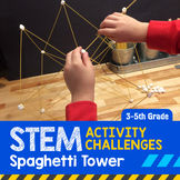 STEM Activity Challenge Spaghetti Tower 3rd-5th grade