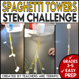 STEM Engineering Challenge: Build a Tower ~ With Spaghetti