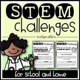 STEM Challenges for School and Home - Monthly!