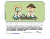 STEM Creative Thinking Skills Cards