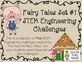 STEM Engineering Challenge Five Pack ~ Fairy Tales Set #1