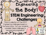 STEM Engineering Challenge Pack ~ Human Body Challenges ~