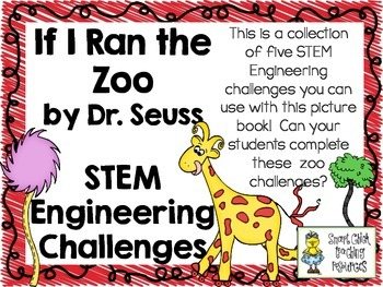 STEM Engineering Challenge Picture Book Pack ~ If I Ran the Zoo, Children's Book