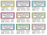 STEM Engineering Challenge Projects ~ ALL NINE TEN PACKS o