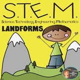 STEM Engineering - Landforms PDF & Powerpoint {Elementary Grades}
