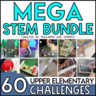 STEM Engineering Challenges Mega Bundle- 36 STEM Challenges!