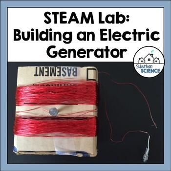 STEM/STEAM activity- Building a Simple Generator using Renewable Energy Sources