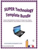 SUPER Technology Template Bundle!
