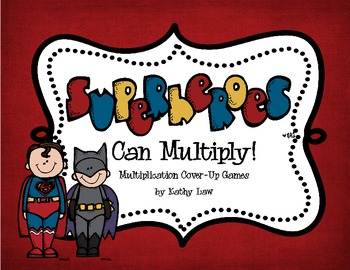 SUPERHEROES Can Multiply!