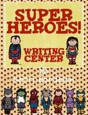 SUPERHEROES!! Writing Center