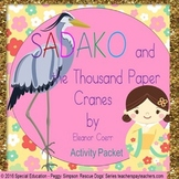 Sadako and the Thousand Paper Cranes Activity Book Study/P