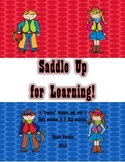Texas Saddle Up for Learning - Western Cowboy Style