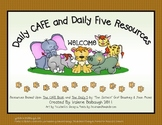 Safari Animals Theme - Daily 5/CAFE Posters