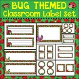 Bugs Classroom Label Set Plus Editable Files