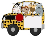 Safari Theme - Buses