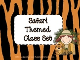 Safari Themed Classroom Set