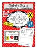Safety Signs Adapted Social Story & Student Book: Early El