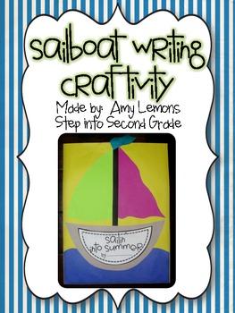 Sailboat Writing Craftivity