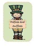 Saint Patty's Day Prefix/Suffix