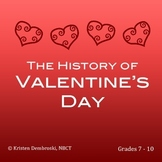 Close Reading St. Valentine's Day - History, Vocabulary, E