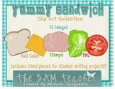 Sandwich Clip Art Collection