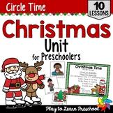 Santa - Christmas Centers and Circle Time Preschool Unit