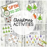 Christmas Math and Literacy Pack