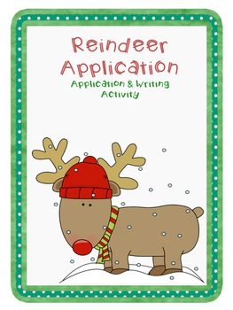 Santa's Reindeer Job Application