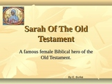Sarah Of The Old Testament