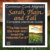 Sarah, Plain and Tall Activities, Questions, Quizzes - Pri