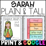 Sarah, Plain and Tall: Complete Unit of Reading Responses