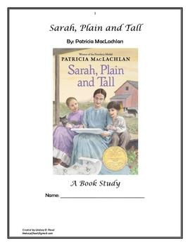 Sarah, Plain and Tall - Unit Study