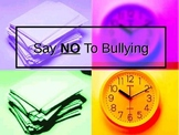 Say NO to Bullying Powerpoint