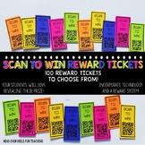 Scan To Win Reward Tickets