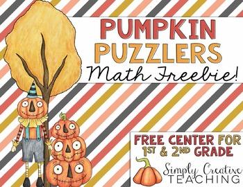 Pumpkin Hundreds Chart Puzzlers